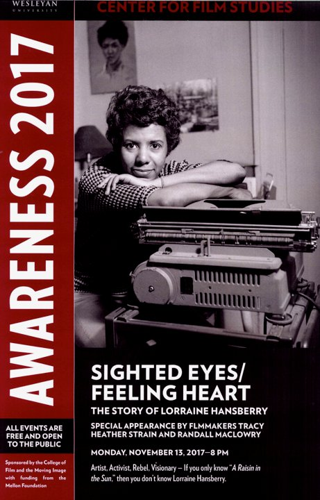 test Twitter Media - Sighted Eyes/Feeling Heart: The Story of Lorraine Hansberry documentary film Tonight @ 8, Goldsmith Family Cinema free and open to the public https://t.co/iX1efG2yLX