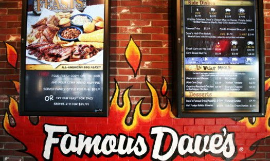 Another year, another CEO at Famous Dave's