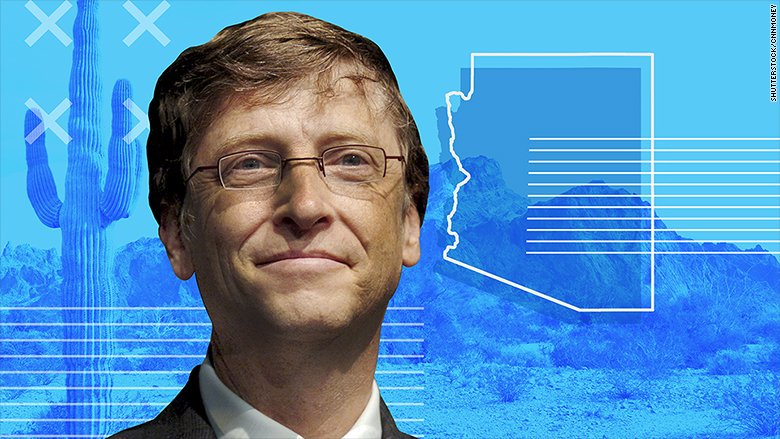 Bill Gates invests $80M to build smart city