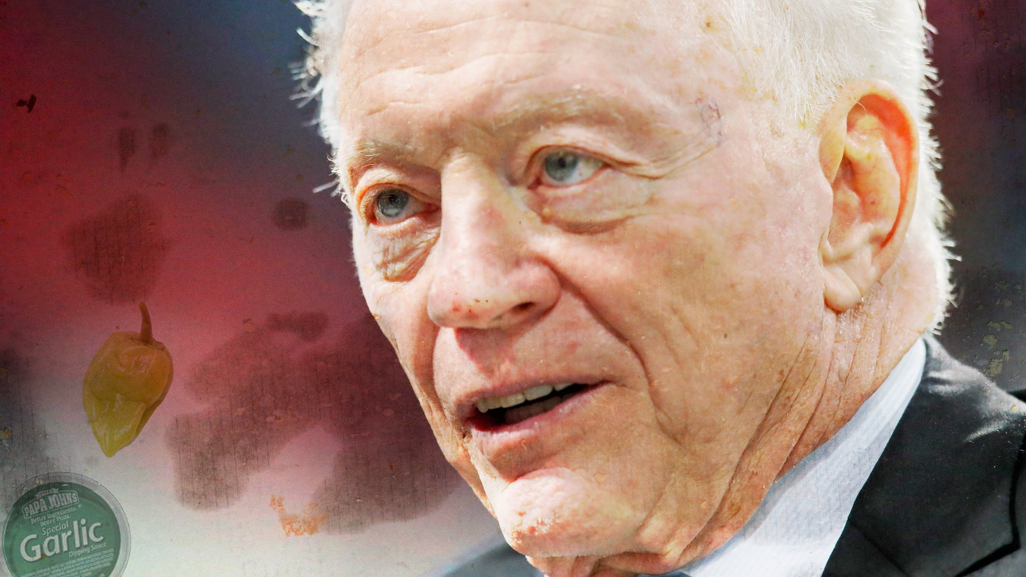 A new report suggests Cowboys owner Jerry Jones is behind the NFL's war with Papa John's https://t.co/AHJl6mHJtN https://t.co/EabliWATqW