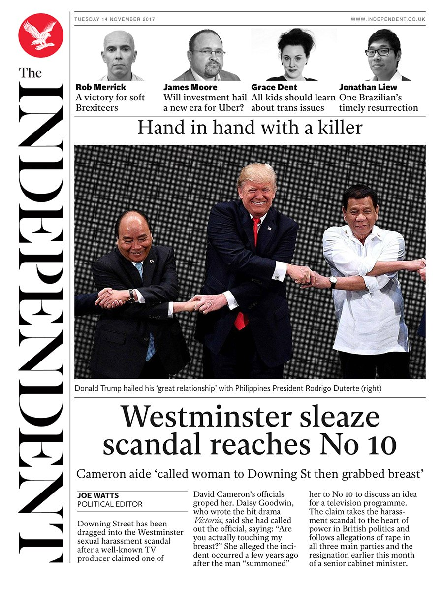Tomorrow's @independent front page #tomorrowspaperstoday To subscribe to the Daily Edition: https://t.co/XF8VnDpHYF https://t.co/SagNlwCJKX