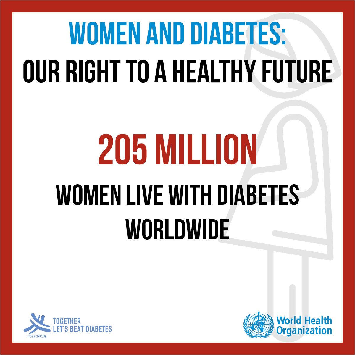 test Twitter Media - Today is #WorldDiabetesDay. 205 million women live with #diabetes worldwide. We stand for women's right to a healthy future! https://t.co/4fvlsTIfWt https://t.co/lNnmezxoyK