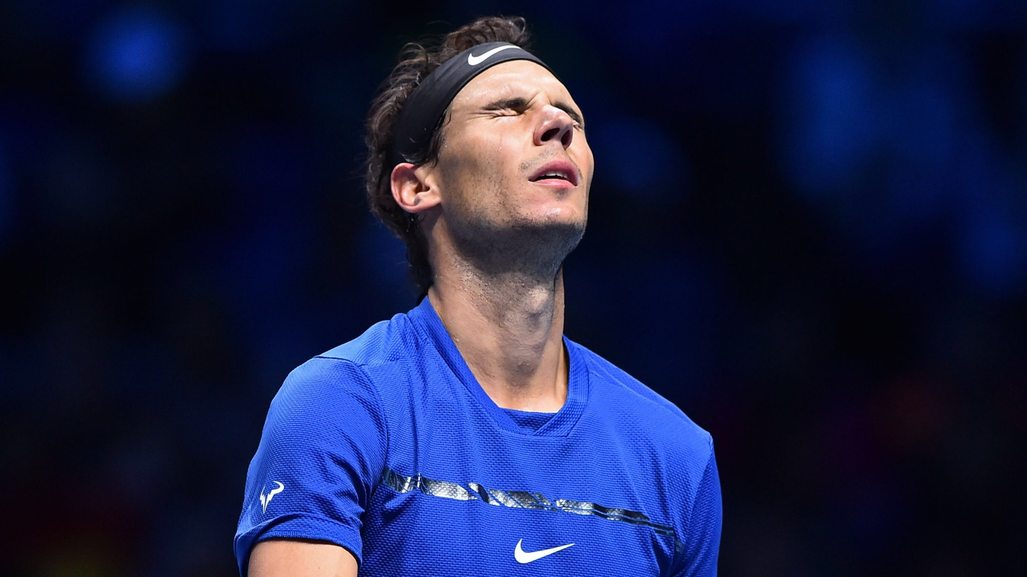 "Rafael Nadal withdraws from the ATP Finals after losing to Goffin.  ""I'm off, my season is over."" https://t.co/x4wb24Z0Tp"