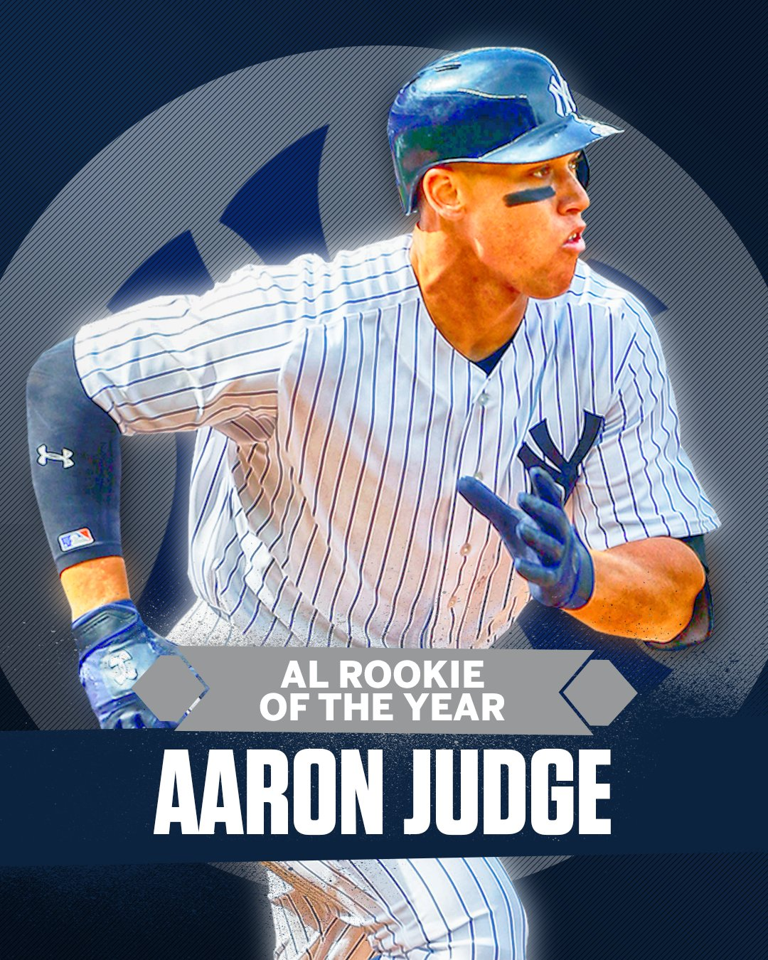 Aaron Judge has been unanimously named the 2017 AL Rookie of the Year. https://t.co/E2XFeIazMr
