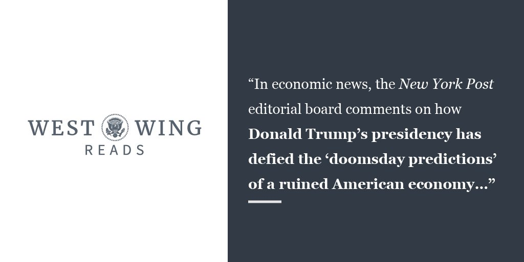 Catch up on today's West Wing Reads: https://t.co/EXDeDW1AHS https://t.co/Qx46muHBkv