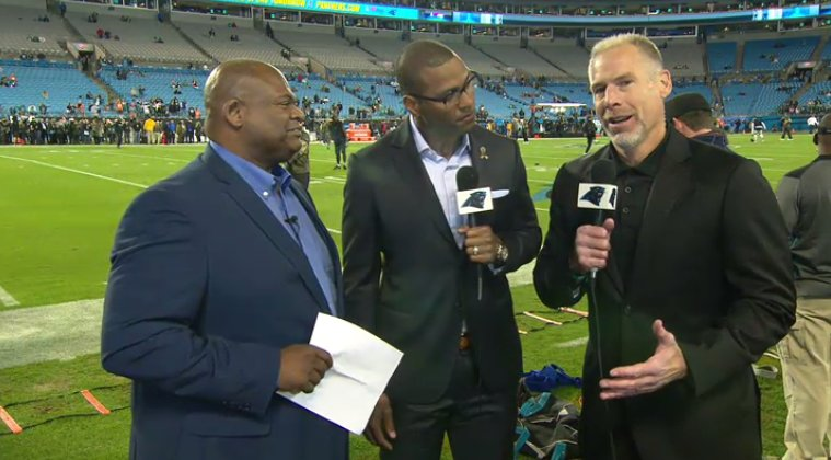 Kevin Donnally, Mike Rucker and Mike Craft talk the #Panthers in primetime for MNF  ��️» https://t.co/sc7r4K916k https://t.co/xO1BC6MhMK