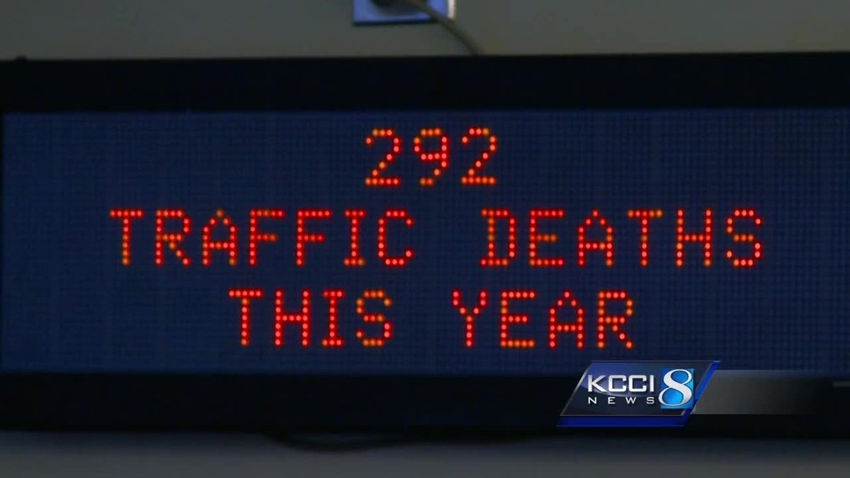 Deaths declining: Iowa DOT notes drop in road fatalities