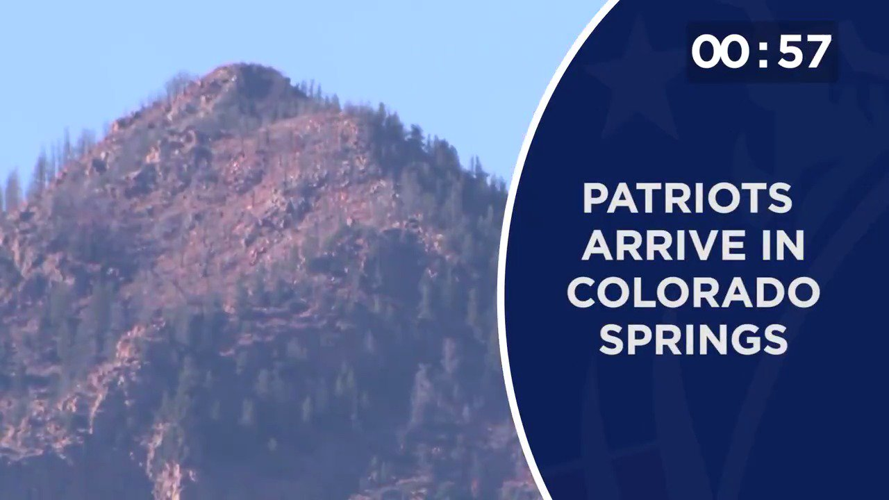 #Patriots arrive for a week in Colorado Springs, Harmon talks team progress & more of today's #Patriots news: https://t.co/fBbIAWYPXd