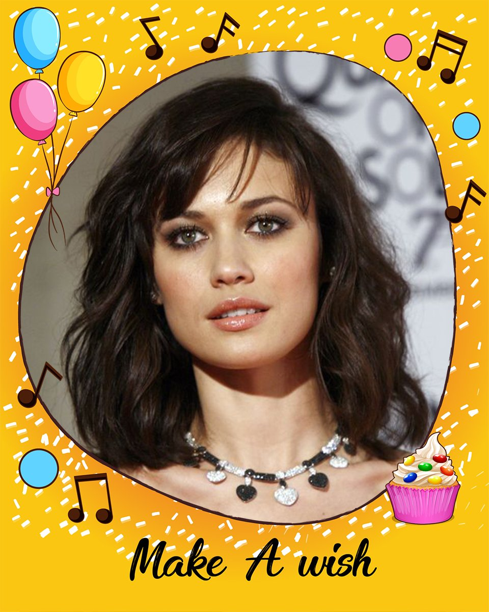 Happy birthday to the Hollywood actress, Olga Kurylenko!!!