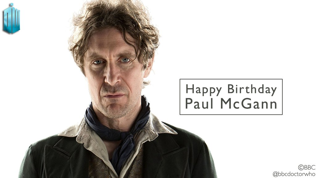 Three cheers for Number Eight   Happy birthday, Paul McGann!