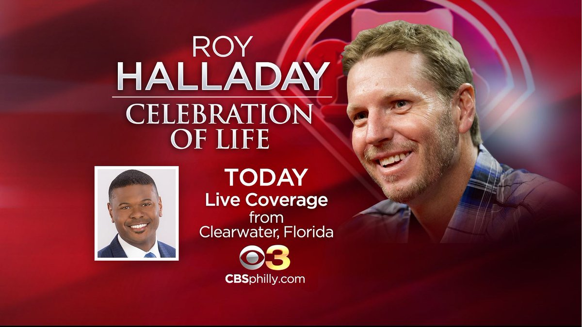 Memorial Service Held Today For Roy Halladay