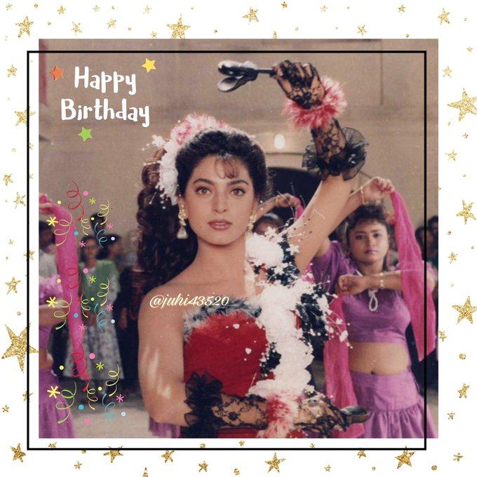 Happy birthday juhi chawla wish you a very happy birthday all thevery best