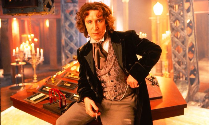Happy birthday to Paul McGann the 8th doctor