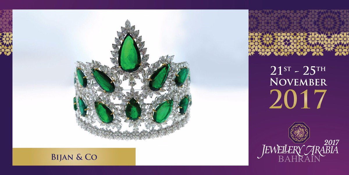 test Twitter Media - A successful family-owned business, Bijan & Co. specialises in majestic jewellery fit for a queen 💍 #bijanco #jewelleryarabia2017 #elegant #beautiful #classy https://t.co/5OywIXKh7E