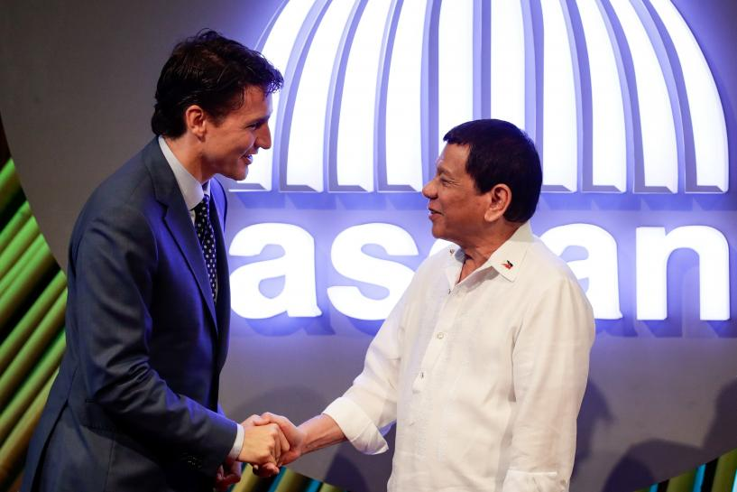 Canada's Trudeau says raised human rights, killings with Philippines' Duterte