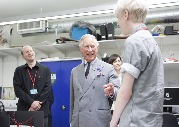 Happy Birthday to our Patron, HRH The Prince Charles, Duke of Rothesay