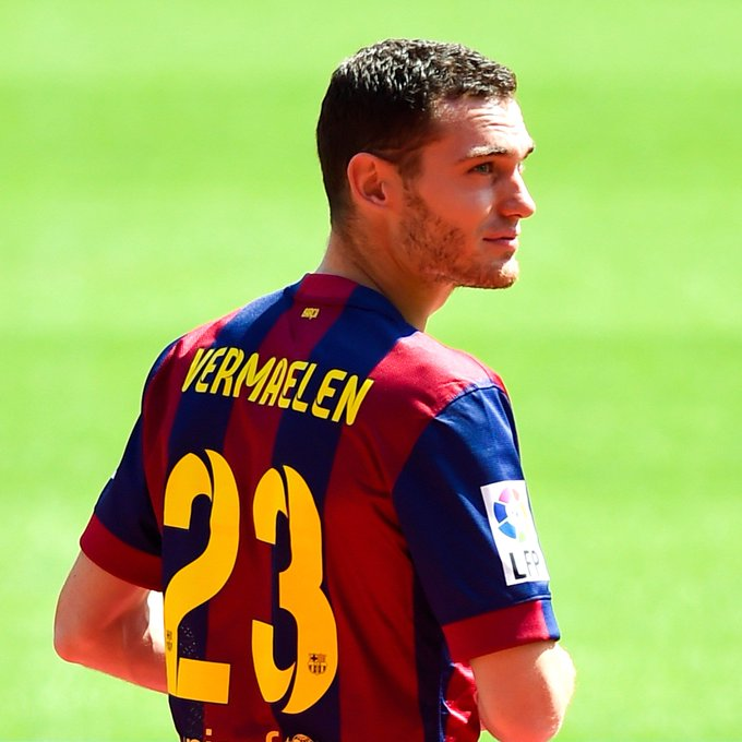 Happy Birthday to Thomas Vermaelen!  2 Barça defenders have birthdays today!
