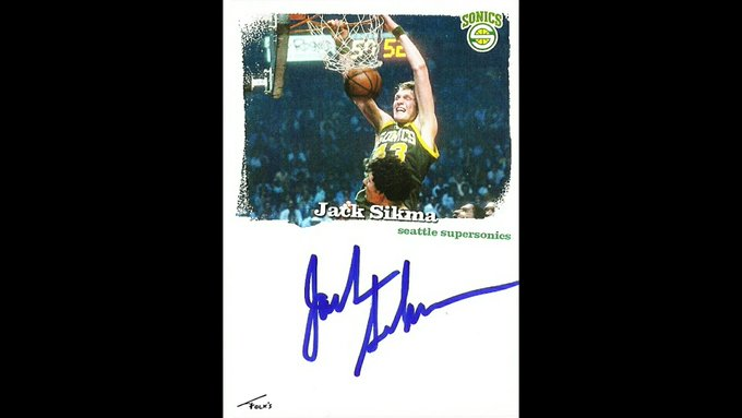 Happy Birthday to NBA legend Jack Sikma who turns 67 today. Enjoy your day!