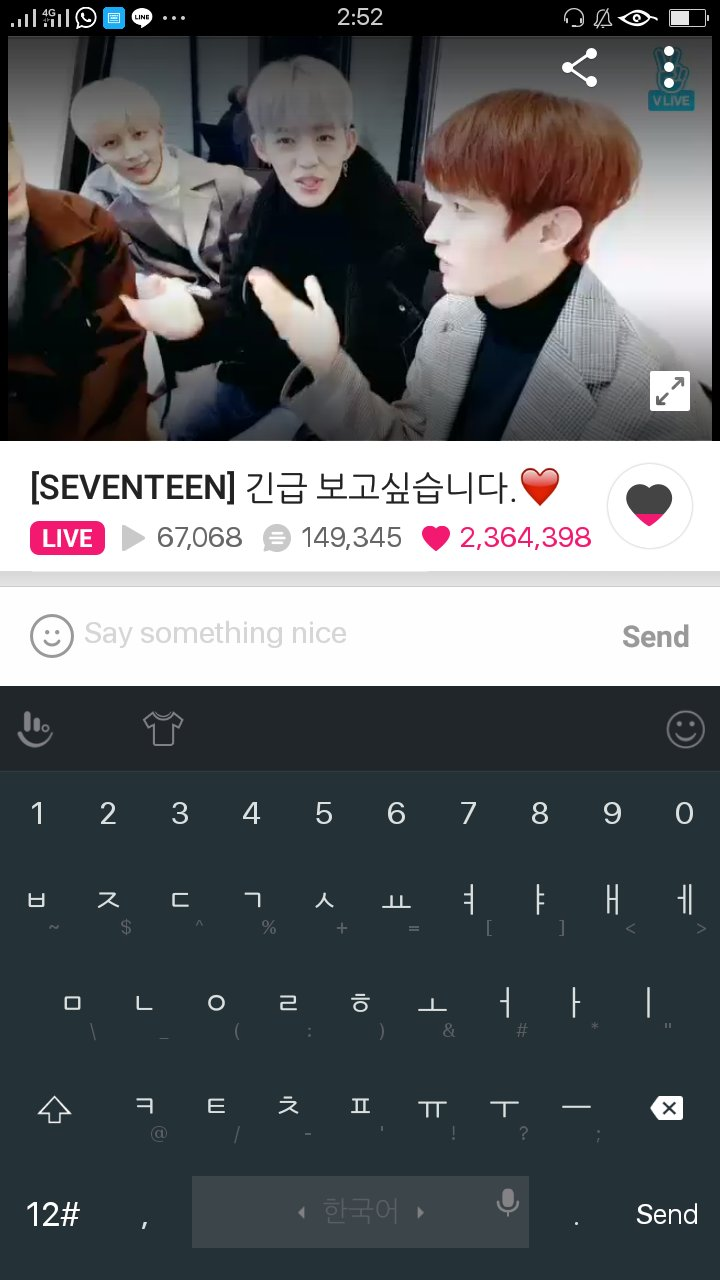 I'm still having practice class and seokcheol is doing a vapp what do u expect me to do??!?!11?1!1 https://t.co/YyjAJMFEON