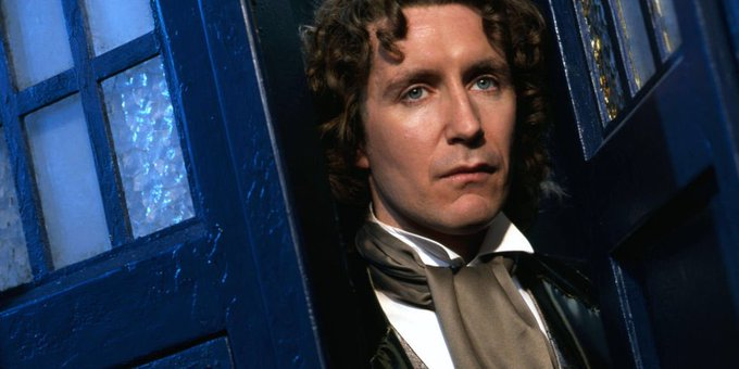 Happy 58th Birthday to the fab, Paul McGann - The Eighth Doctor