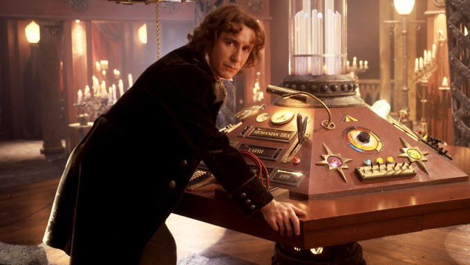 Happy 58th Birthday to the fab, Paul McGann - The Eighth Doctor.