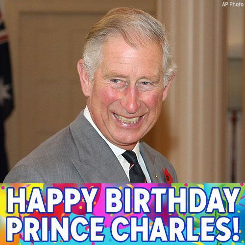 Happy Birthday to Britain s heir apparent Prince Charles!