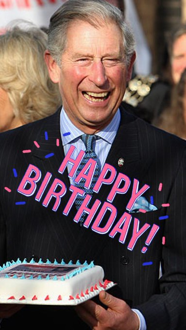 Many happy returns to my birthday twin & namesake, HRH Prince Charles! Hope you had cake for breakfast too
