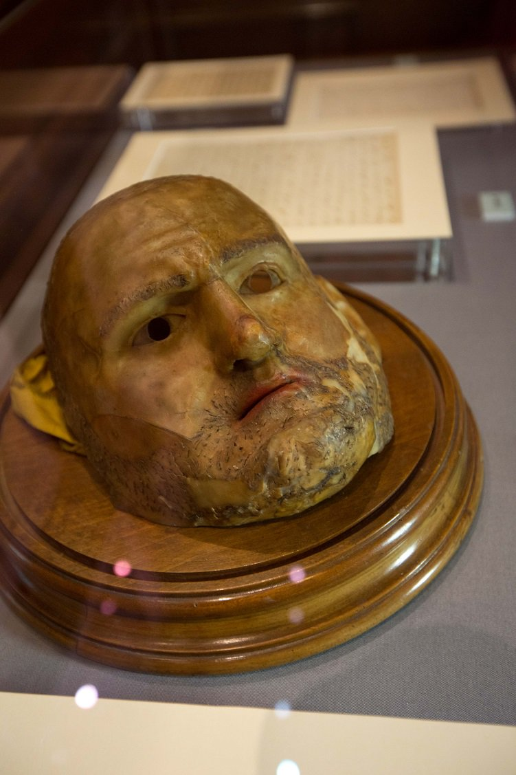 test Twitter Media - RT @Wordsworthians: Today's picture: Byron's carnival mask, from the collection at @Keats_Shelley #RomanticsPics https://t.co/66xmEc4QxQ