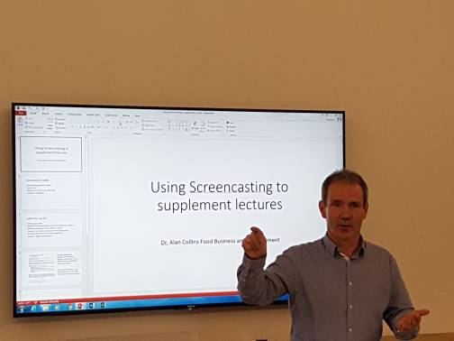 test Twitter Media - Great presentation on screencasting from Alan Collins at today's Byte-Sized TEL session! https://t.co/3NUdfBF8tn