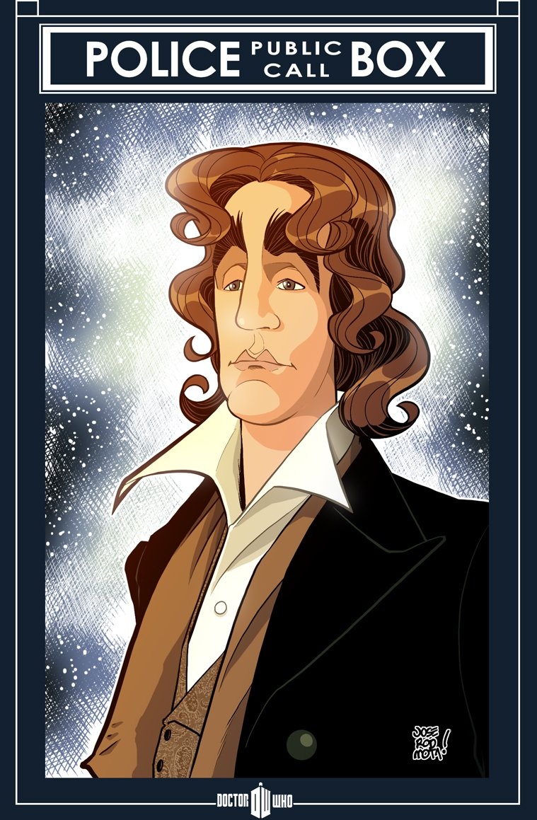 HAPPY BIRTHDAY PAUL McGANN a.k.a. the Eighth Doctor!