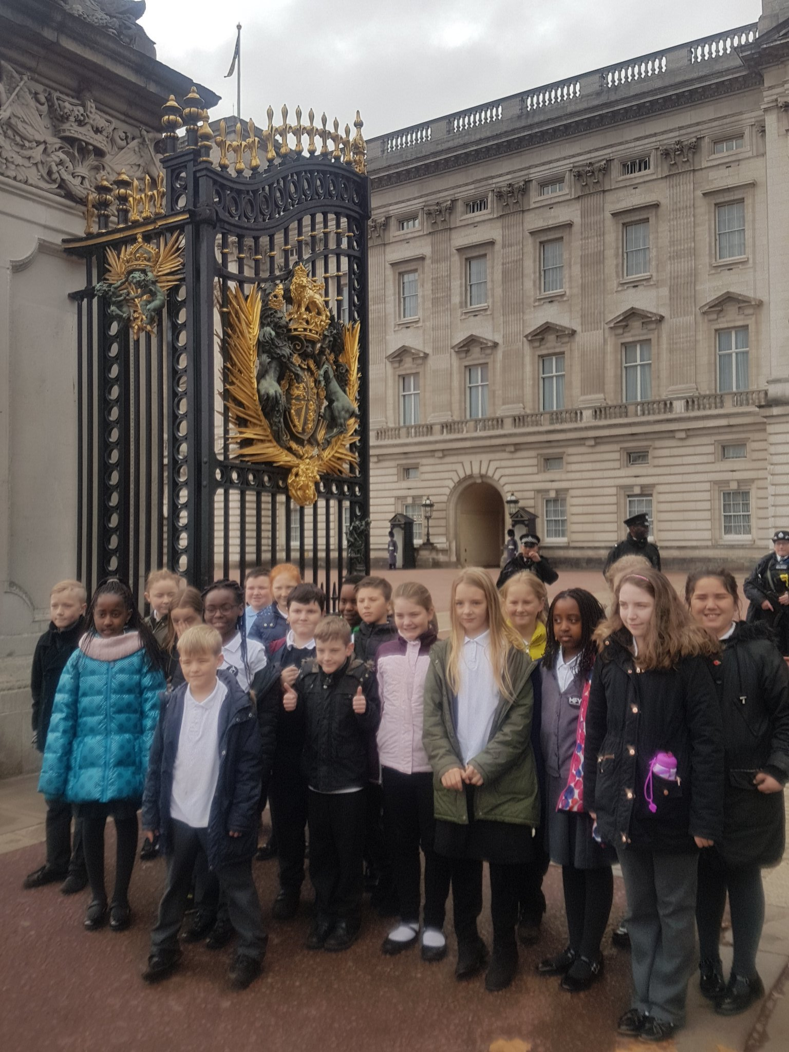 Jamie shares a Birthday with Prince Charles - so we stopped by to say hello & Happy Birthday!