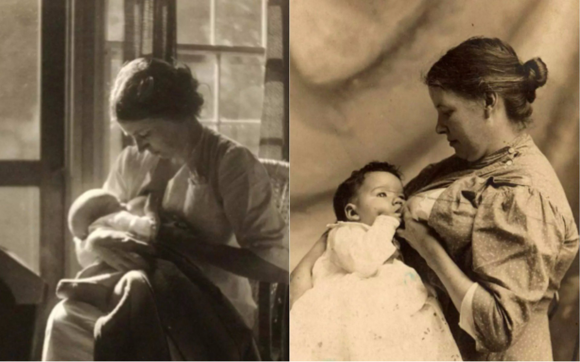 Incredible pictures show Victorian women breastfeeding in public with pride https://t.co/1ldL7M5eWg https://t.co/gdZikkYe7w