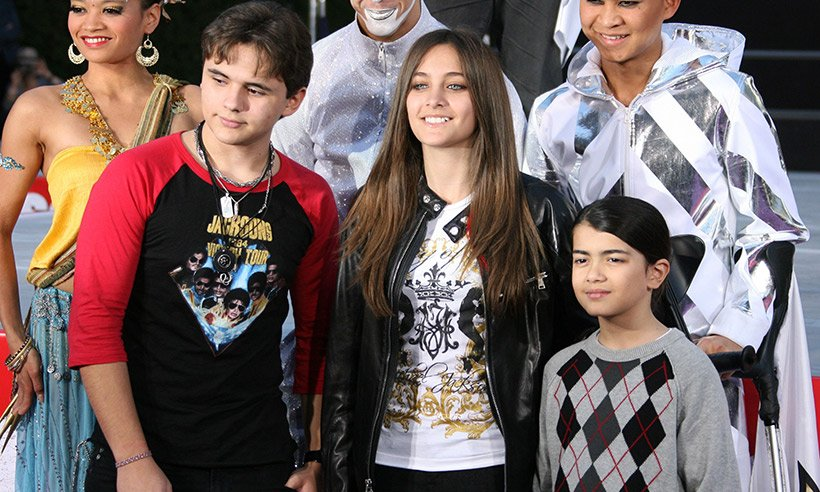 Michael Jackson's son Blanket is all grown up!