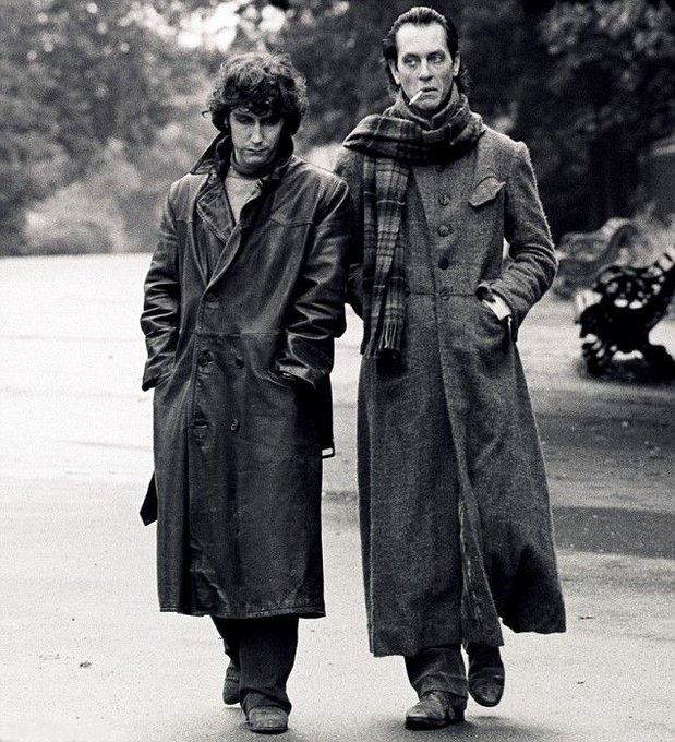 Happy birthday to Paul McGann. Photo (with Richard E. Grant) from Withnail & I, 1987.