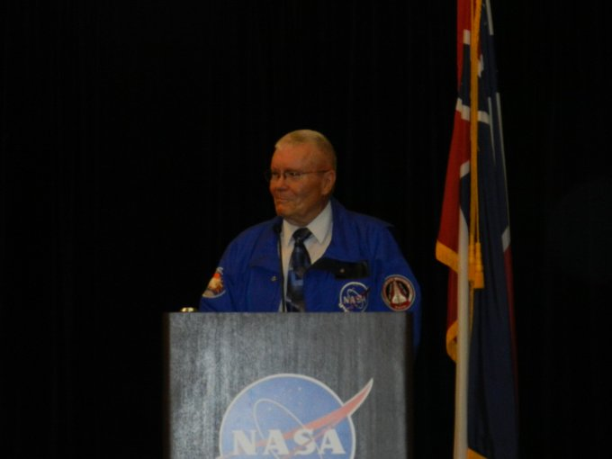 Happy birthday to Apollo 13 LMP and Shuttle ALT CDR, Fred Haise.
