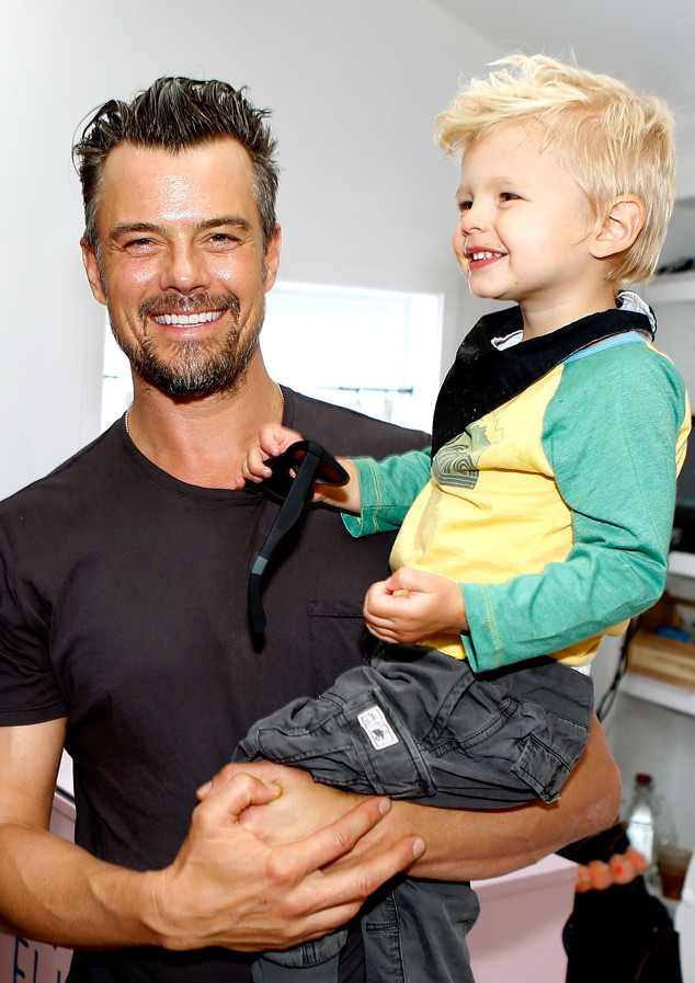 Happy Birthday, Josh Duhamel! Check Out the Actor\s Cutest Dad Moments With Son Axl.