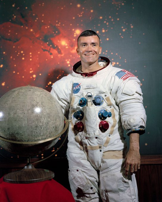 Happy Birthday to Fred Haise, who turns 84 today!