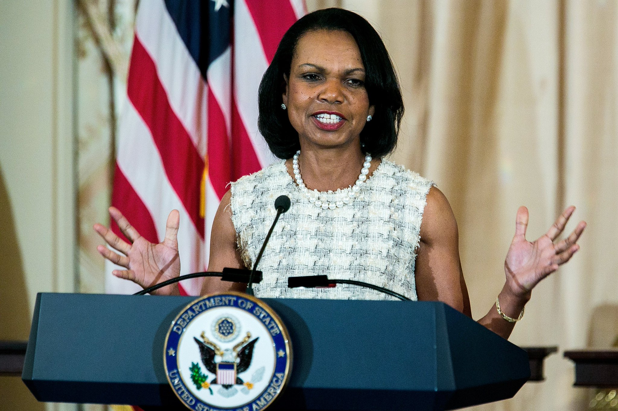 Happy Birthday to Condoleezza Rice who turns 63 today!