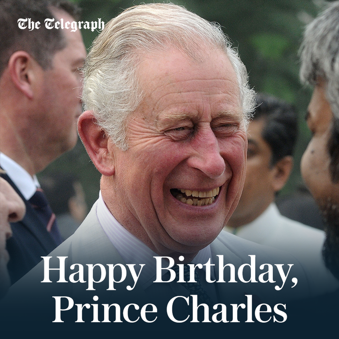 Happy 69th birthday, Prince Charles!
