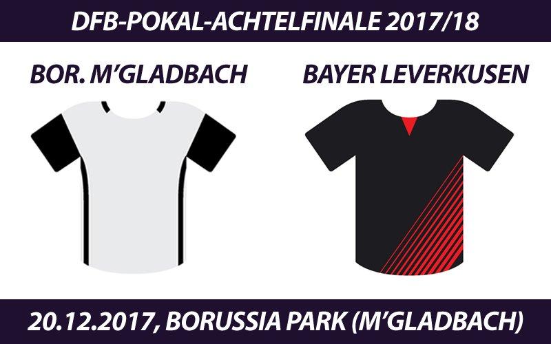 #DFBPokal Tickets: #Fohlenelf - #Bayer04 Leverkusen, 20.12.2017 #BMGB04 https://t.co/gLwvOGh9Kh https://t.co/9pHV0O7jwx