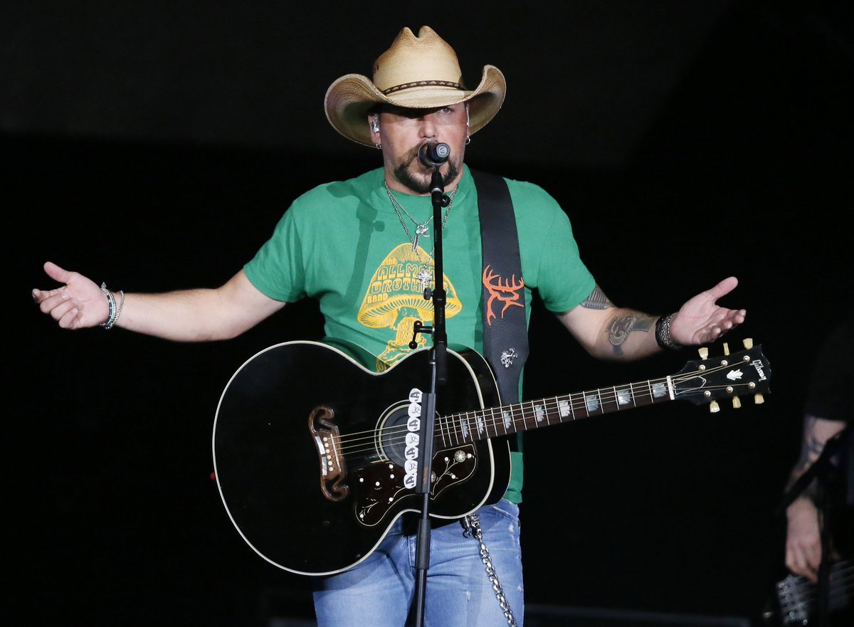 Jason Aldean says he hopes for healing after Vegas shooting in first interview