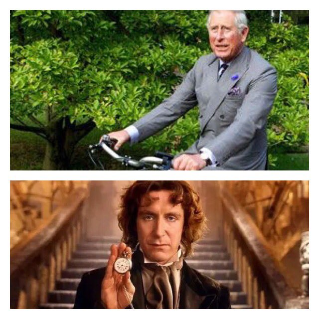 HAPPY BIRTHDAY to Hrh Prince Charles and former Paul McGann! Have a great day!