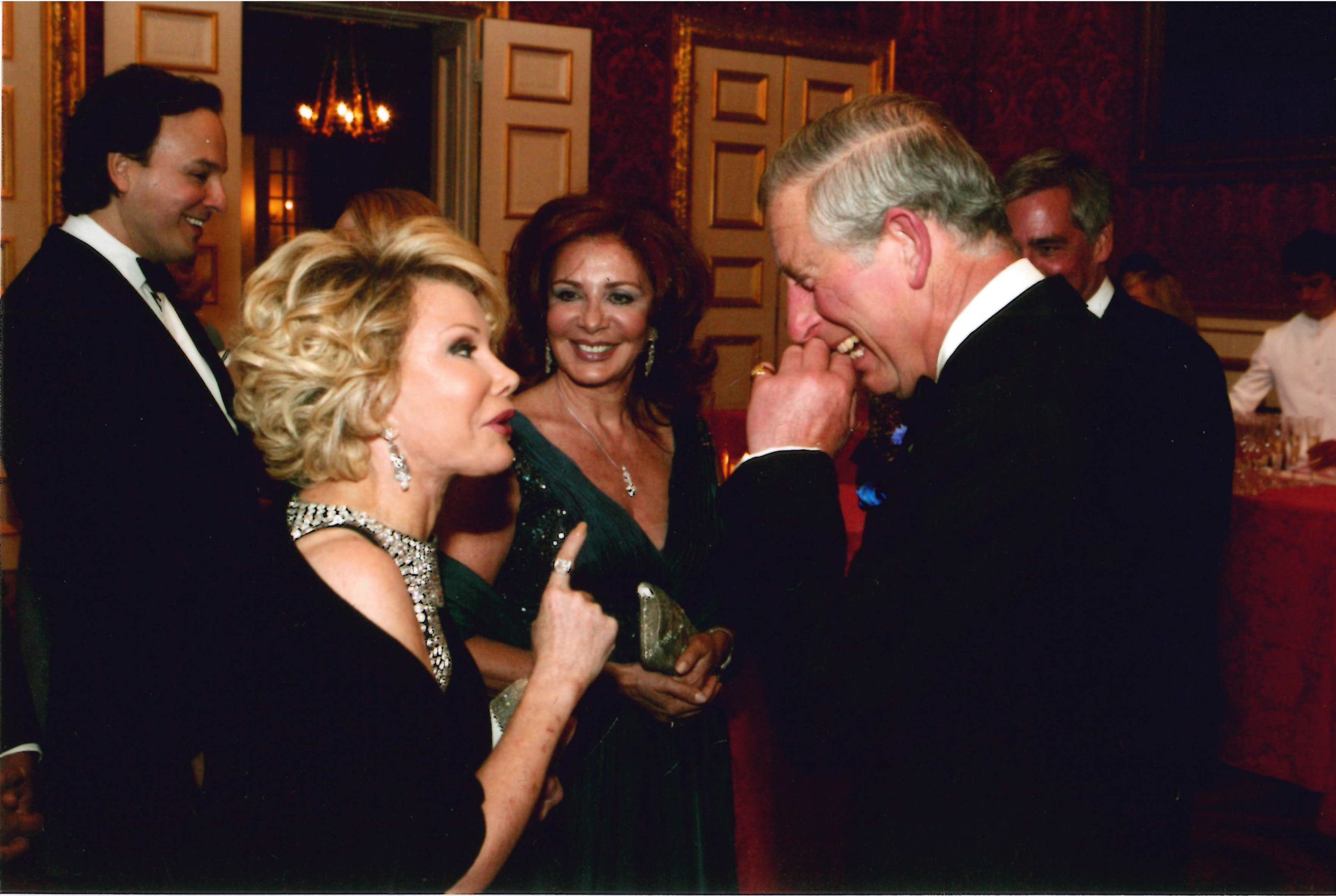 She could always make him laugh! Happy Birthday to Joan s good friend, HRH Prince Charles!