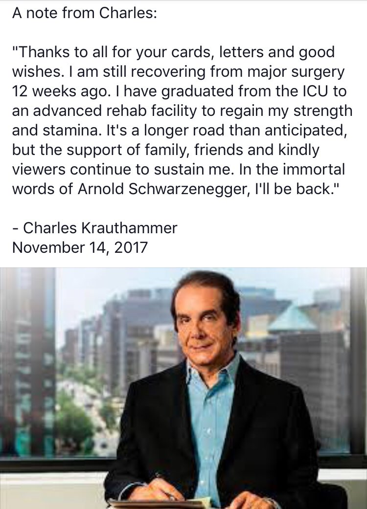 A note from @Krauthammer https://t.co/HgsoVMQdW4