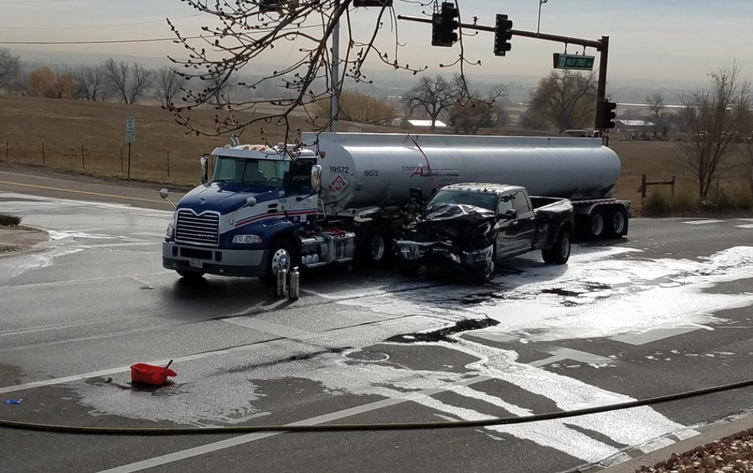 Teen Driver Steals Truck, Crashes Into Diesel FuelTanker