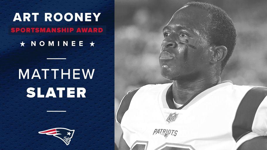 Patriots art rooney sportsmanship award