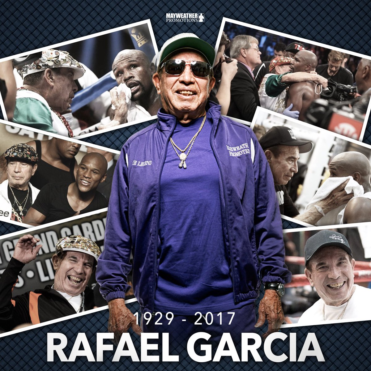 test Twitter Media - Rafael Garcia you will be missed. You lived your life to the fullest,  and you will be remembered for all your contributions to the sport of boxing. Let your soul rest with no more pain. ~ Love always and forever your Mayweather Promotions family 🙏🏾 https://t.co/1LlbBbBwwb