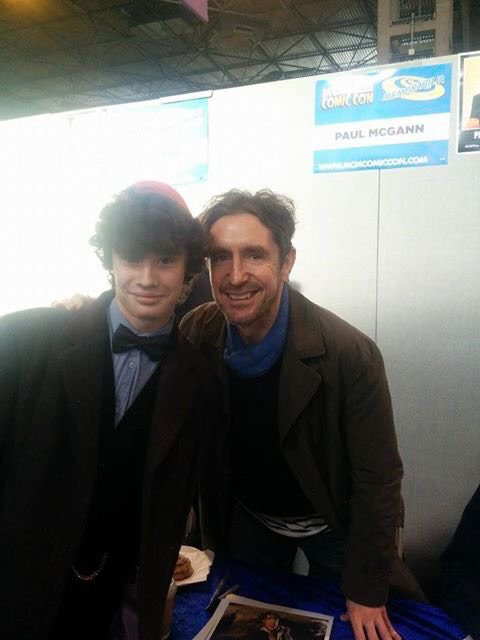 Happy Birthday to the wonderful Paul McGann such a snazzy Doctor ps gives great hugs