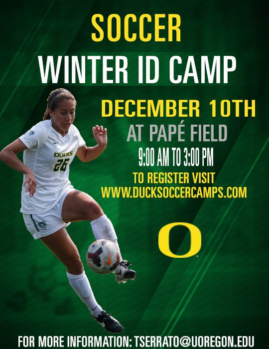 Don't forget about our Winter ID Camp. Spots are filling up quickly, sing up here today: https://t.co/DOoz6WB0gu https://t.co/JmuweseNuX