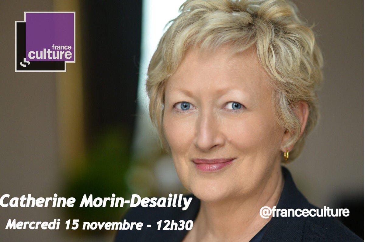 RT @C_MorinDesailly: 📻 Je serai l'invitée du journal @franceculture demain à 12h30 🔗